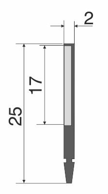 Abstreifer M-E1