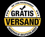Versandkostenfrei ab 100 Euro netto innerhalb DE