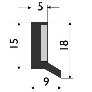 Steinbock Führungsbahnabstreifer