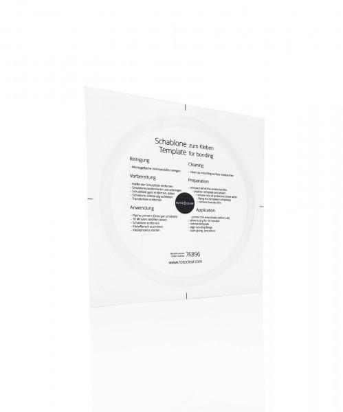 Rotoclear S3 - Schablone zum Kleben