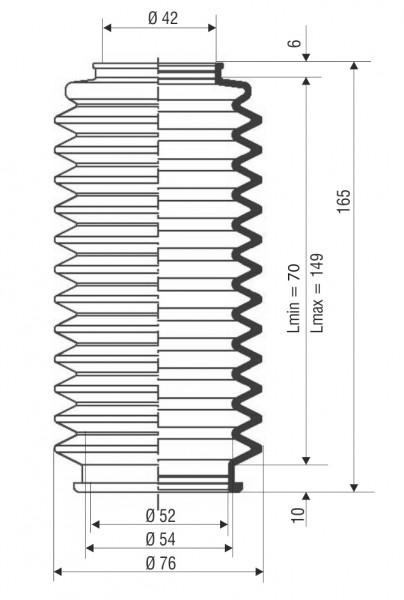 Faltenbalg F 3008